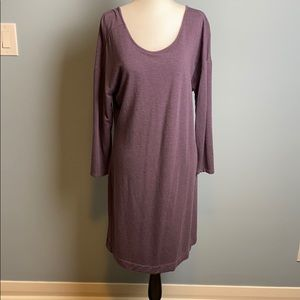 LOFT Lounge Purple Tunic Dress